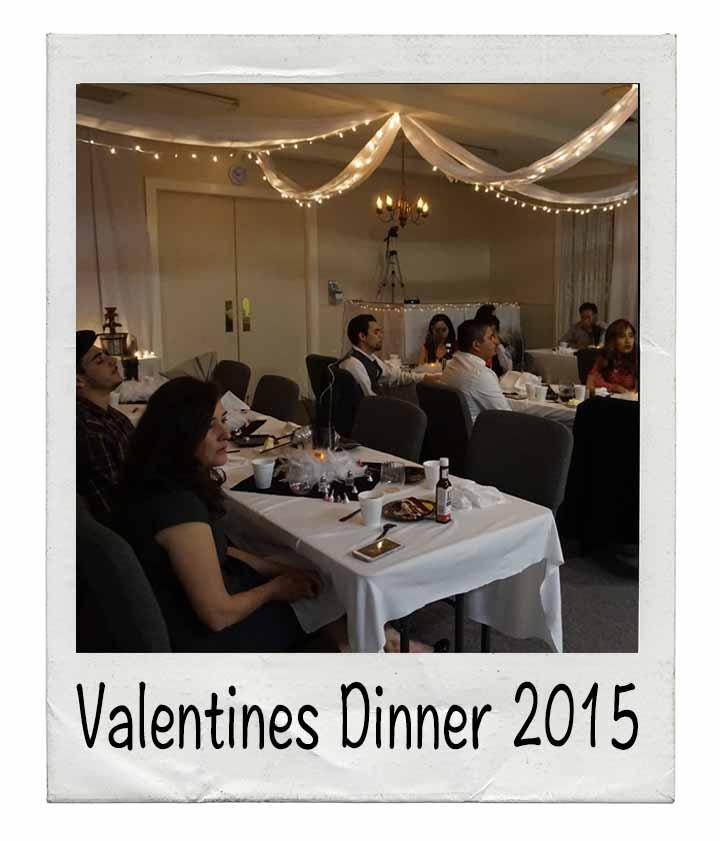 Valentines Dinner 2015