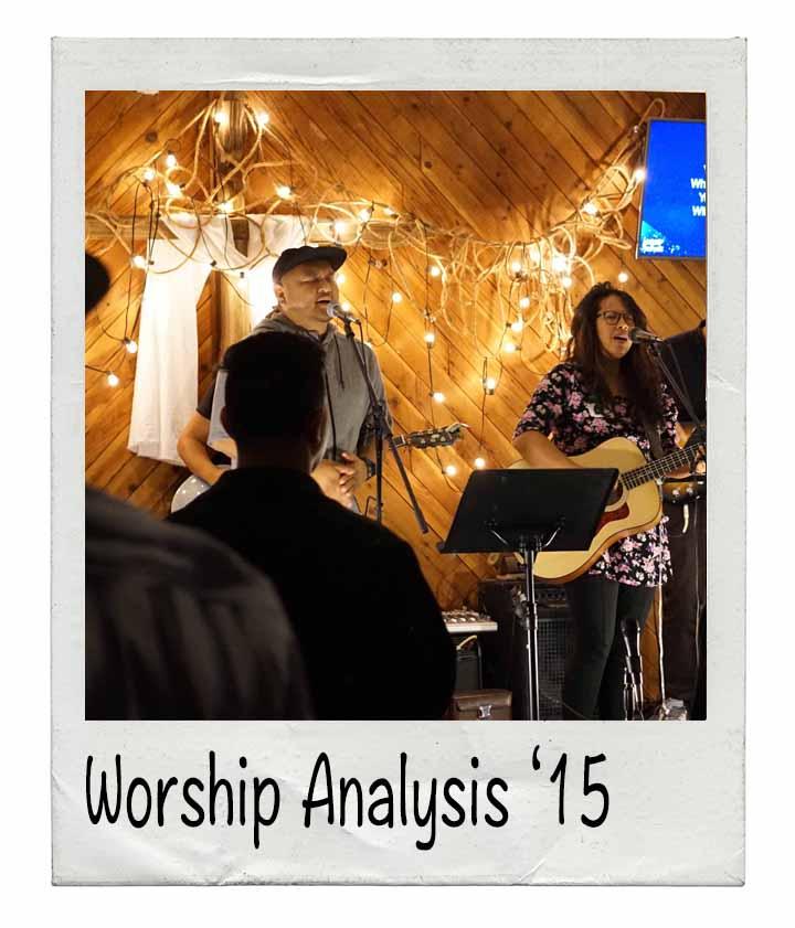 Worship Analysis 15